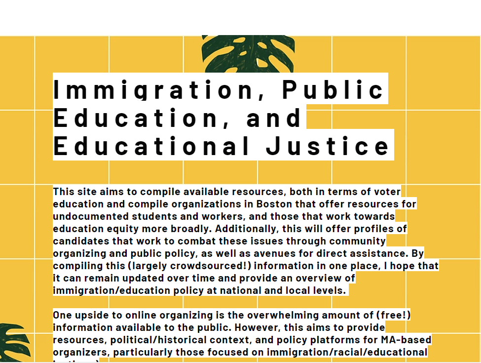 Immigration, Incarceration and Deportation in the Boston Public School System by Alec Black '23